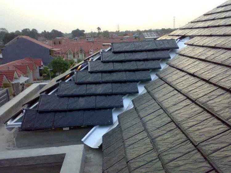 bentuk atap rumah type 90