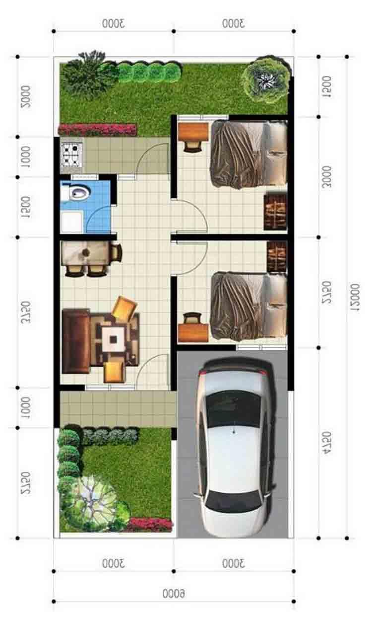 960 Koleksi Gambar Rumah Type 36 2 Lantai Terbaik