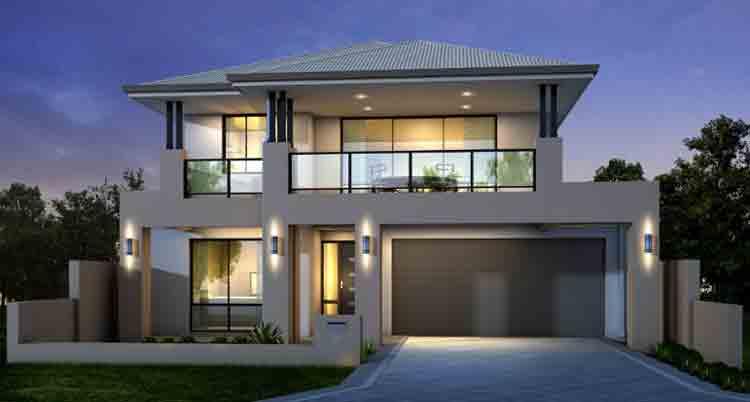 free desain rumah minimalis 2 lantai