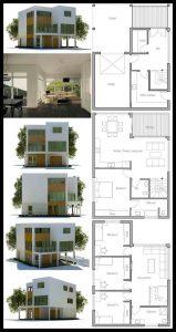 60+ desain dan denah rumah minimalis sederhana & modern