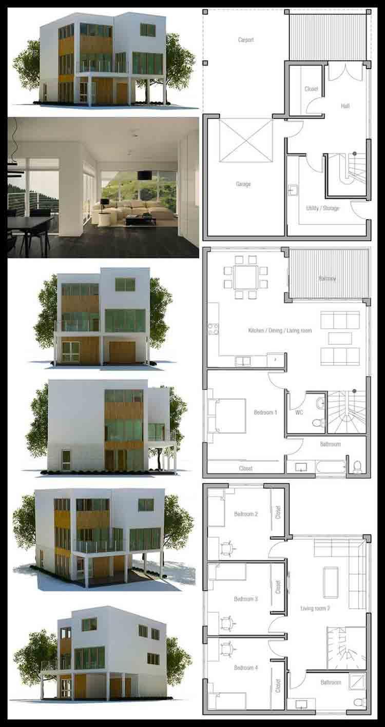 desain rumah minimalis 100m