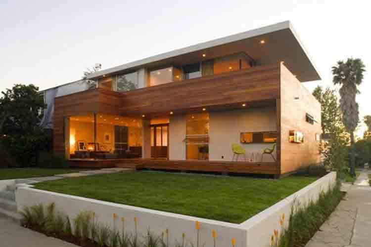 rumah mewah minimalis batu alam