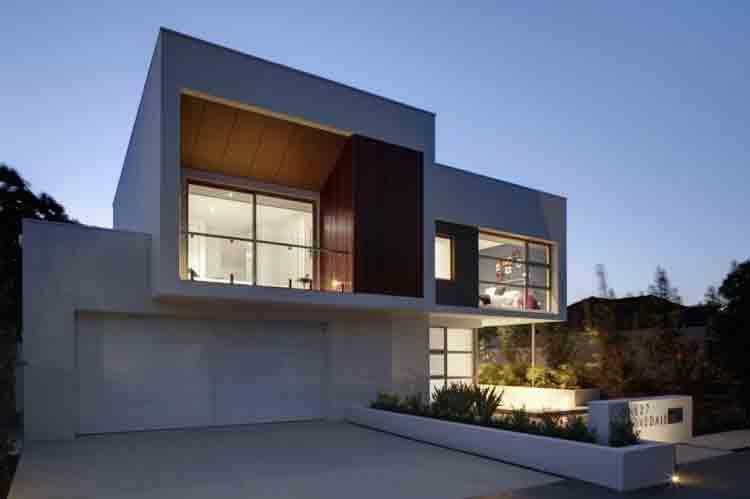 rumah minimalis bentuk l