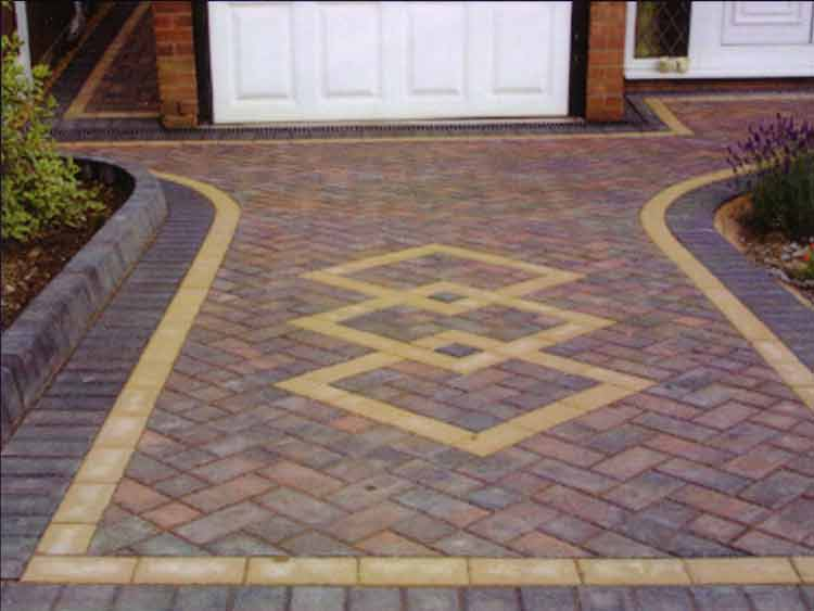 paving block fitting
