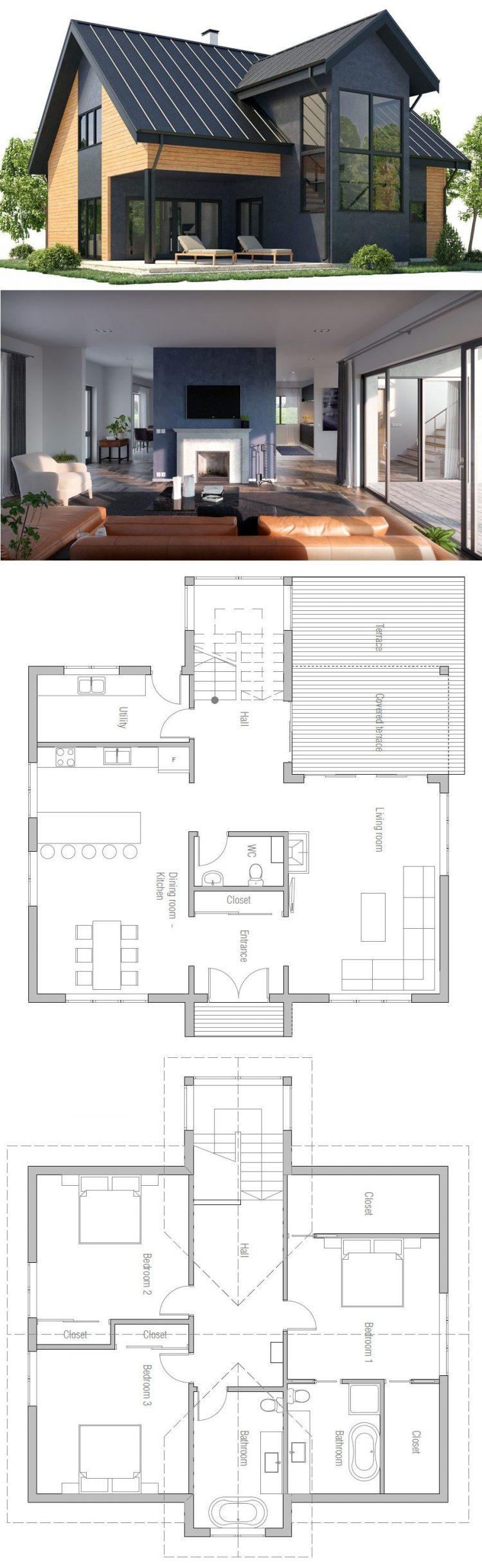 desain rumah minimalis persegi