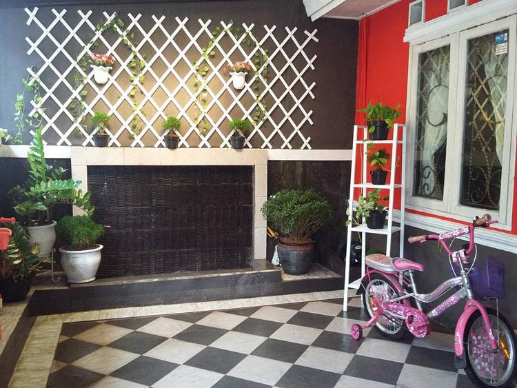 tinggi ideal keramik dinding teras