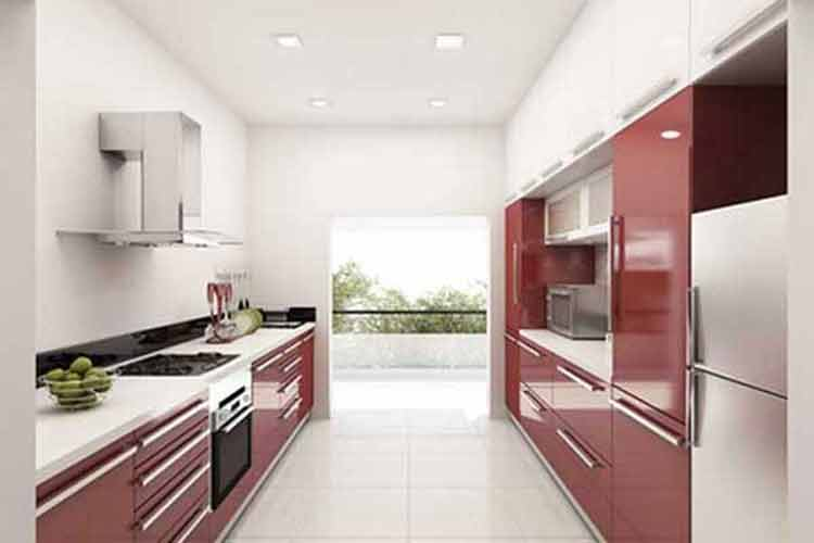 kitchen set aluminium jogja