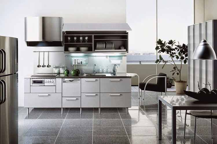 kitchen set aluminium bintaro