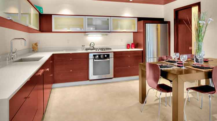 foto kitchen set aluminium minimalis