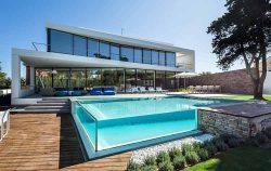 √ 30+ model kolam renang rumah mewah dan minimalis 2019