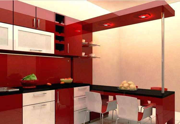 30 Model Kitchen Set Aluminium Minimalis Harga 2020