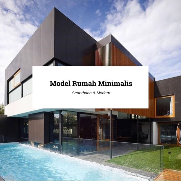 featured image model rumah minimalis