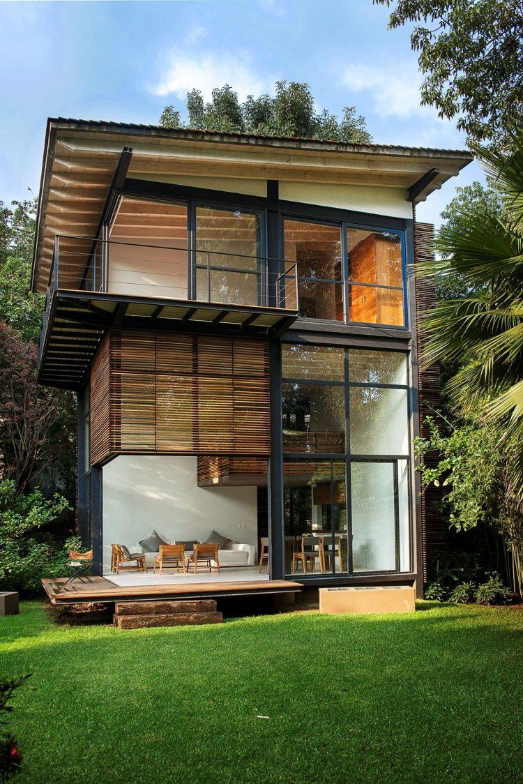 45 Rumah Kayu Minimalis Model Sederhana Desain Modern
