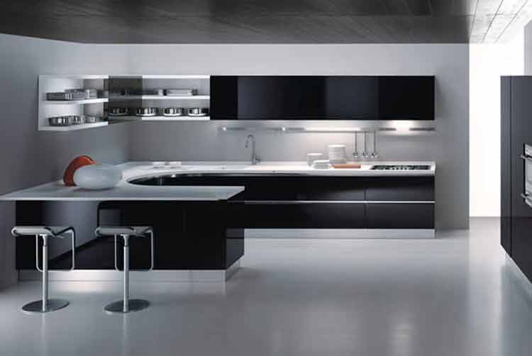 kitchen set aluminium medan