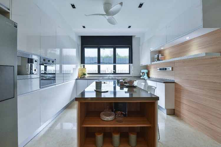 kitchen set aluminium minimalis murah