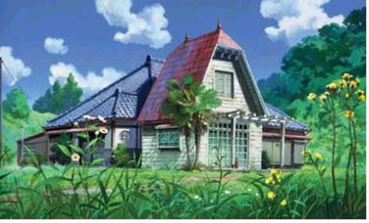 rumah gambar kartun