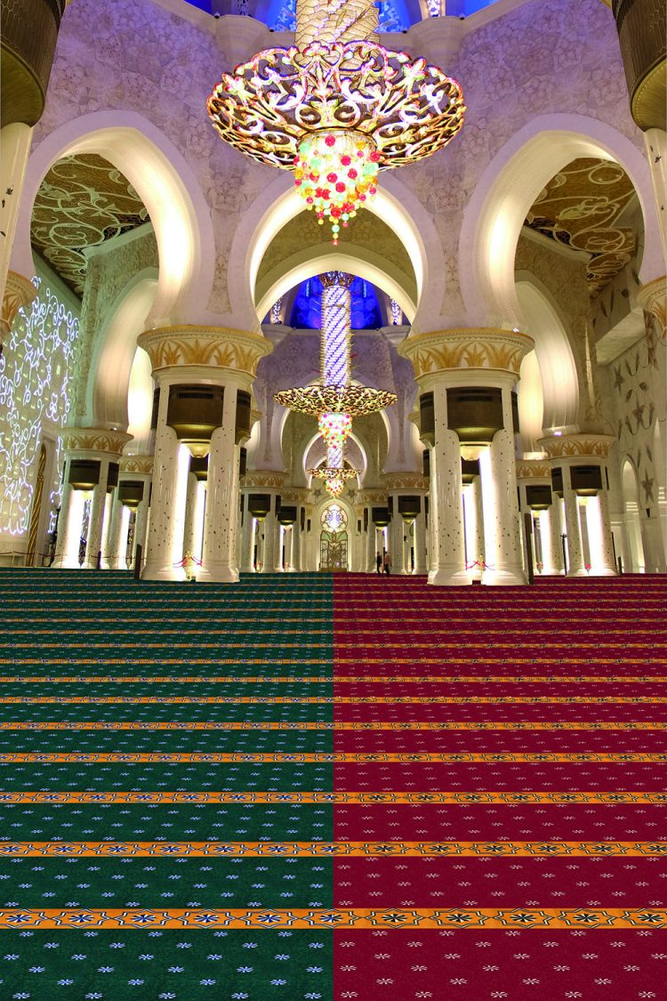 karpet masjid royal tebriz