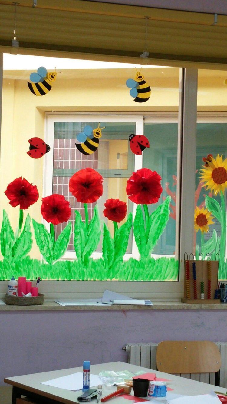gambar hiasan jendela kelas