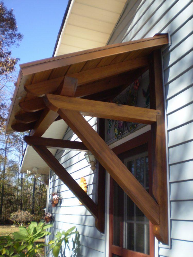 Door Canopy Diy Metal Awning